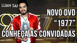"""Conheça as participações do novo DVD de Luan Santana """"1977"""""""