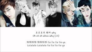B.A.P - It's All Lies (전부 거짓말) [Hangul/Romanization/English] Color & Picture Coded HD
