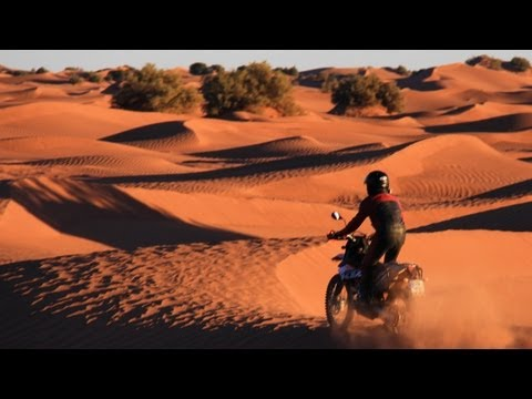 Sand Dune Riding in Morocco [2013, KTM 690 Enduro R]