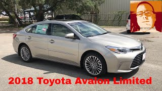 2018 Toyota Avalon Limited Walk Around Video