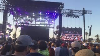 """War on Drugs """"Under the Pressure"""" excerpt. Coachella 2015"""