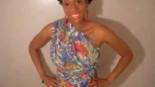 DIY Homemade One Shoulder Wrap Dress