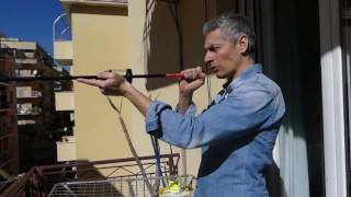 Giovanni Vernia imita ballerino Tim parodia