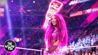 "WWE Sasha Banks Theme Song ""Sky's the Limit"" 2017 ᴴᴰ [OFFICIAL THEME]"