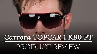 237ea9256e5 Carrera TOPCAR 1 KB0 PT Sunglasses in Black