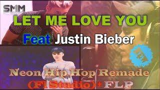 Justin Bieber - Let Me Love You Neon Hip Hop( Remix) by Saikat Biswas