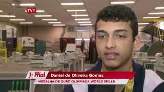 Aluno do Senai de Diadema é medalhista na maior competição de habilidades do mundo