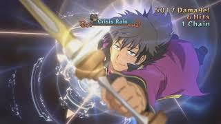 Tales of Vesperia: Definitive Edition - Raven's 2nd Mystic Arte - Crisis Rain