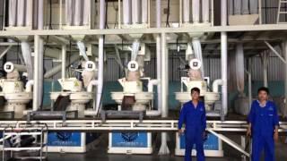 Some production line of our client,wood pellet production line,biomass fuel
