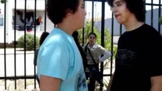 Encenação de uma situação Bullying