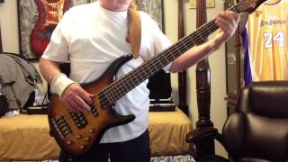 Karma Chameleon cover Jerry Burgin, bass