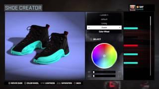 "NBA 2K16 | Shoe Creator ""Gamma 12s"""