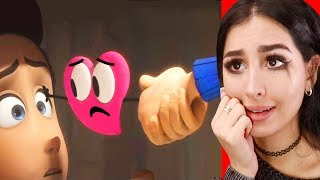 Reacting To The SADDEST ROMANTIC Animations