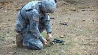 314th Combat Engineer Platoon River Assault 2014  - Demo Range