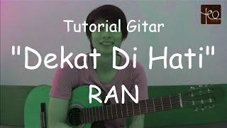 Akustik Gitar - Belajar Lagu (Dekat di Hati - RAN) width=