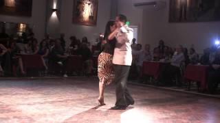 Vals de cumpleaños de Jenny Gil con Frank Obregon en Parakultural milonga, Salón Cannig