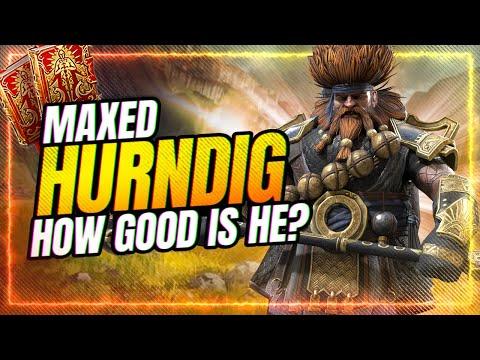 Hurndig SKILL Is Worded WRONG! My FULL Testing! | RAID Shadow Legends