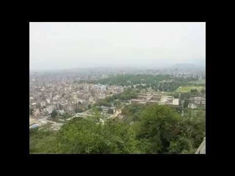 Panormaic View of Kathmandu City, Nepal