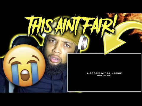 HE'S FINALLY BACK! A Boogie Wit Da Hoodie - Track Star Remix REACTION!