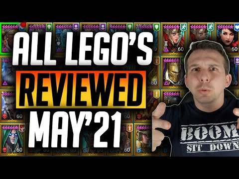 INVEST IN QUALITY LEGENDARIES! ALL LEGO's REVIEWED IN 30s | Raid: Shadow Legends
