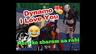 Female Fan Saying I Love You to Dynamo, Dynamo Funny Reaction, Bhai mere ko itni sharm aa rahi