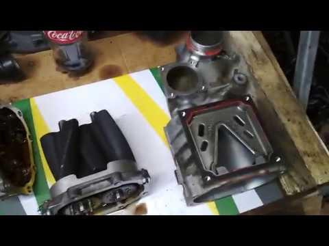 Mercedes Benz E200 Kompressor (W211) M271.941 (Ремонт ДВС) Сборка (95%), проверка Компрессора EATON