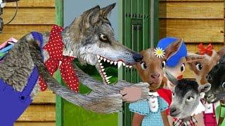 El Lobo y los Siete (7) Cabritillos  en español, Video Cuento Infantil en español