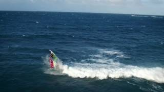 Zane Schweitzer and Kai Lenny Windsurfing on Maui