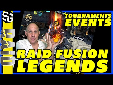 RAID FUSION LEGENDS | EVENTS & TOURNAMENTS