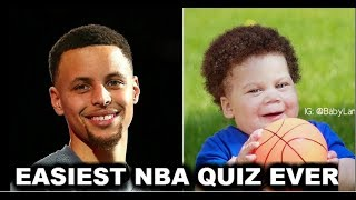EASIEST NBA QUIZ EVER! | CAN YOU GUESS WHO THESE NBA PLAYERS ARE?