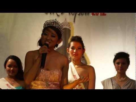 Miss Nepal 2012 (Gaumaya Gurung's Speech)