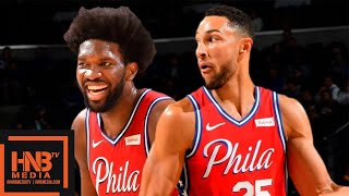 Philadelphia Sixers vs Guangzhou Long-Lions - Full Game Highlights | October 8, 2019 NBA Preseason