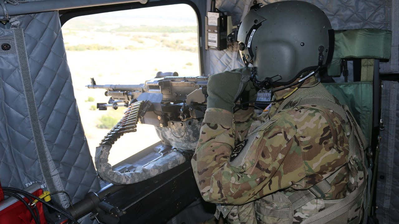 US Army • 147th Assault Helicopter Battalion • Live Fire