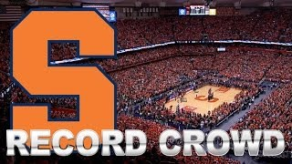 Record Crowd Of 35,446 Packs Carrier Dome For Duke vs Syracuse