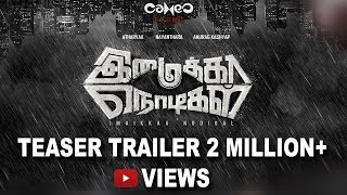 Imaikkaa Nodigal - Official Teaser Trailer   Atharvaa, Nayanthara, Anurag Kashyap, Raashi Khanna