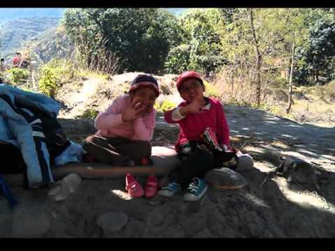 Picnic with Kiki's to Nepal Tokh 25th Feb. 2012
