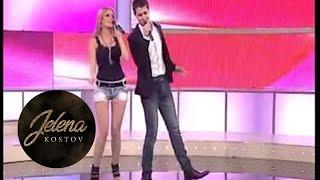 Nemanja Andjelovic i Jelena Kostov - Voli me i cuvaj me - (LIVE) - Zvezde Granda - (TV Pink 2012)