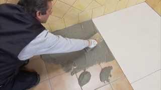 13 - Linea Plus: Assentamento sobre pavimento preexistente