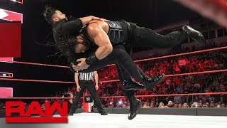 Roman Reigns vs. Sunil Singh: Raw, June 11, 2018