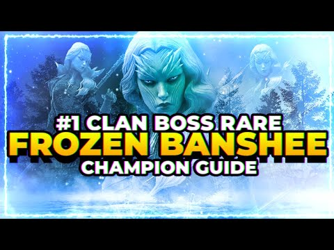 RAID Shadow Legends | Frozen Banshee | BEST CLAN BOSS RARE!