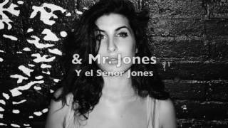Amy Winehouse - Me & Mr. Jones (Lyrics English & Spanish)