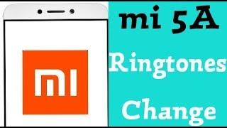 Xiaomi Redmi 5A - Change Ringtones || Choose online ringtone || Choose local ringtone