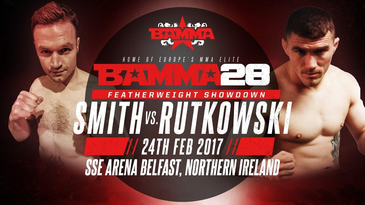 BAMMA 28: Daniel Rutkowski vs Niall Smith