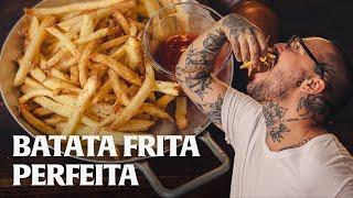 BATATA FRITA CROCANTE E SEQUINHA!