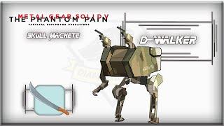 Metal Gear Solid V Phantom Pain D WALKER Skull Machete HD action