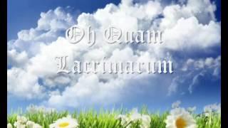 Canto gregoriano - Oh Quam Lacrimarum