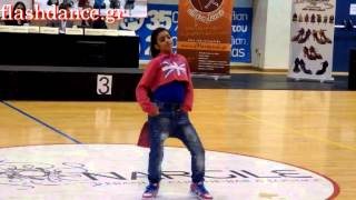 12 years old girl dance freestyle hip hop