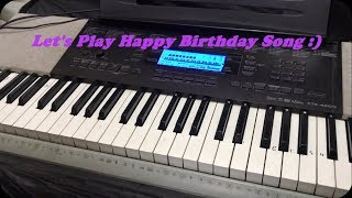 Let's Play Happy Birthday song on Piano