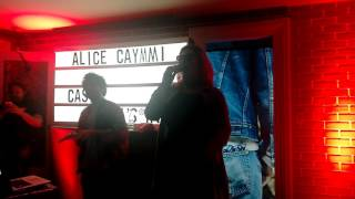 alice caymmi @ casa levi´s: rap do amor / rap da cidade de deus
