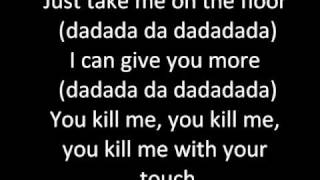 Take Me On The Floor - The Veronicas ( LYRICS )